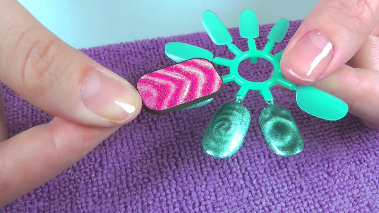 Style Me Up Magnetic Nail Art - YouTube