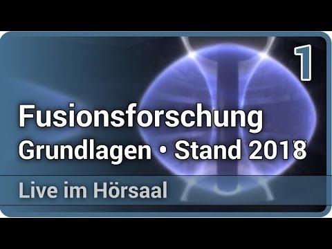 Fusionsforschung • Grundlagen & Stand 2018 12 •  im Hörsaal  Hartmut Zohm