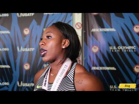 Gwen Berry @ 2016 USA Olympic trials day 5