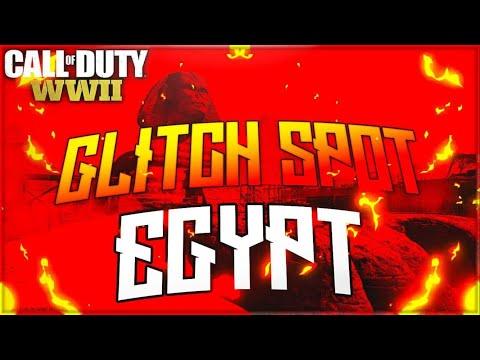 COD WW2 GLITCHES *NEW* MANTLE WALLBREACH ON EGYPT (WW2 TUTORIAL)