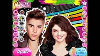 Selena and Justin Real Makeover Game For Girls