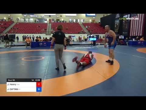 2018 Marine Corps US Open/Masters D Freestyle 100 RR Rnd 3 - Jeff Henry (USA ) Vs. JOSEPH CATTAN (