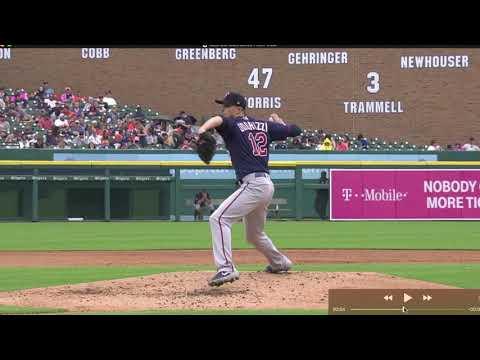 Jake Odorizzi Rotation Into Front Foot Strike