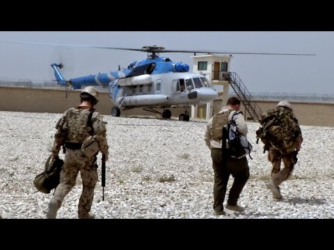 Resolute Support - Train Advise Assist im Camp Shaheen