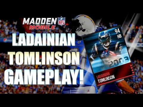 LT BABY! Ladainian Tomlinson Gameplay / Review! Madden Mobile 16