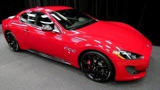 2013 Maserati GranTurismo Sport - Exterior Walkaround - 2013 Salon de L'Automobile de Montreal
