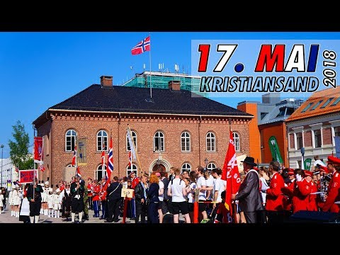 Borgertoget 17. mai 2018: Kristiansand