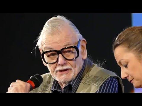 Masterclass with George A. Romero - Lucca Film Festival 09.04.2016