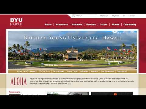 BYU-Hawaii Commercial - Job Search