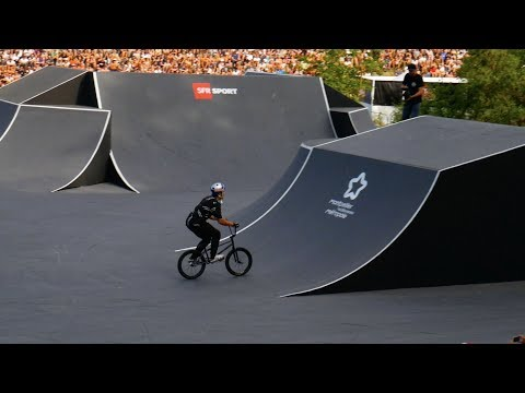 INSANE WORLDS FIRST BMX TRICK PULLED AT FISE 2017!!