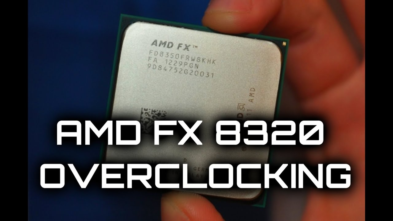 Amd Fx 8320 Overclocking Cool N Quiet Youtube