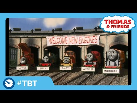 Five New Engines In The Shed | TBT | Thomas & Friends