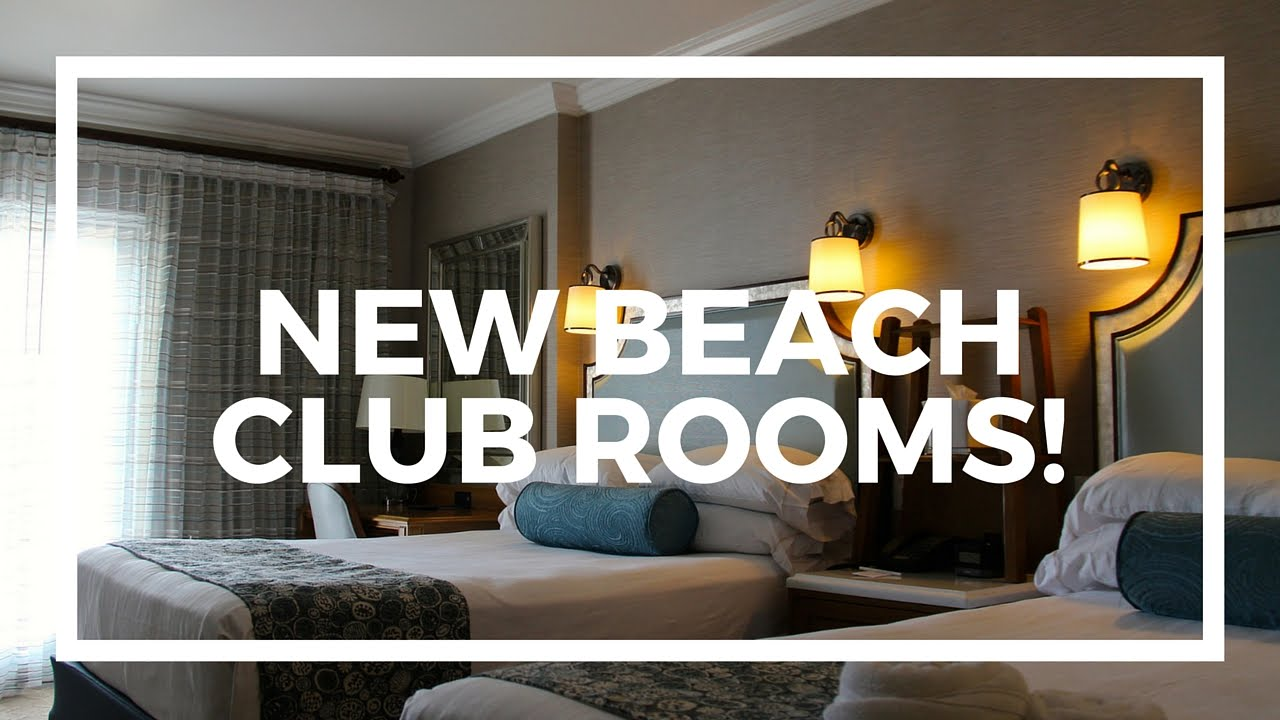 New Rooms At Disney S Beach Club Resort Youtube