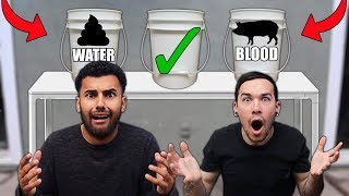 DONT Sit Under the Wrong Bucket!! *WARNING GROSS*