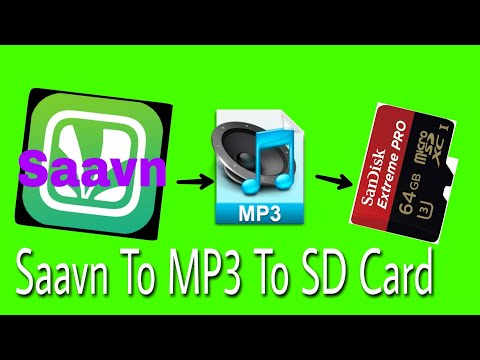 How To save Saavn Music To Memory Card In Details(Hindi)