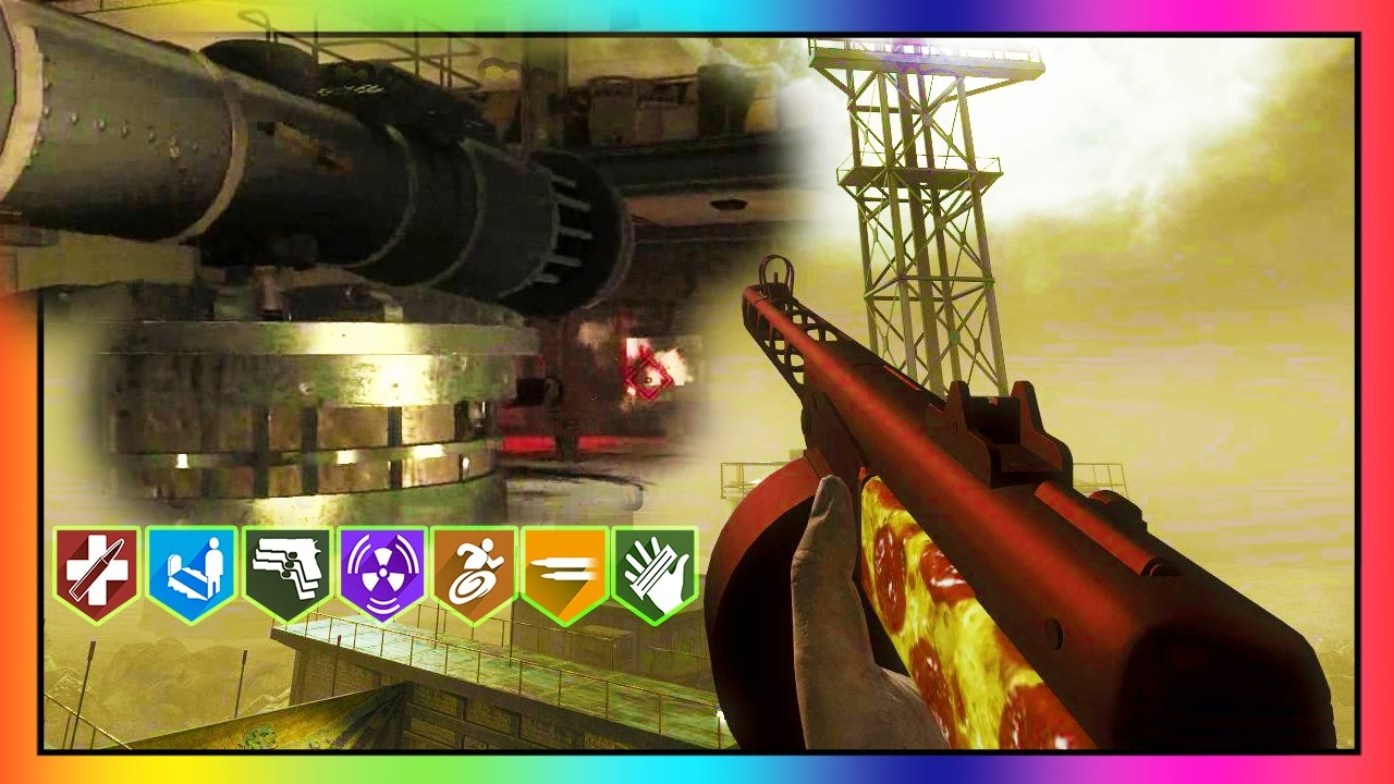 ASCENSION EASTER EGG & EASTER EGG EXTENSION SOLO! BLACK OPS ZOMBIES!