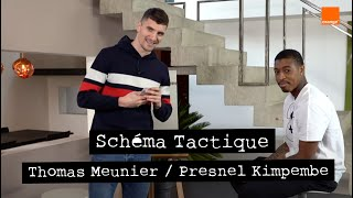 THOMAS MEUNIER / PRESNEL KIMPEMBE | Schéma Tactique 🖍🖼 |  | Team Orange Football