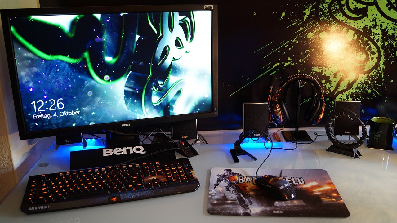 Razer Battlefield 4 Gaming Setup Unboxing Showcase