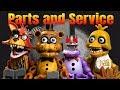 Lego FNAF - Parts And Service