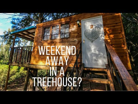A NIGHT AT VINDOUX TREE HOUSES | TULBAGH - Boring Cape Town Chick