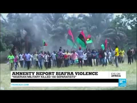Amnesty international report accused nigeria army of killing ipob peaceful protesters at ABA.