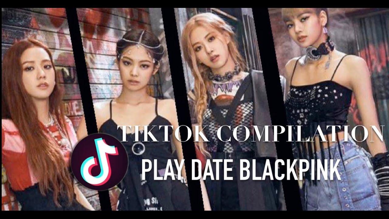 Playdate Tiktok Trend Blackpink Version Blackpink Compilation Blackpink Playdate Trending