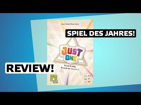 Just One // Spiel des Jahres 2019 // Brettspiel - Review // Regeln & Meinung