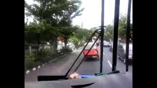 Video Balapan Bis Jurusan Surabaya Di Jalan Raya, Menegangkan