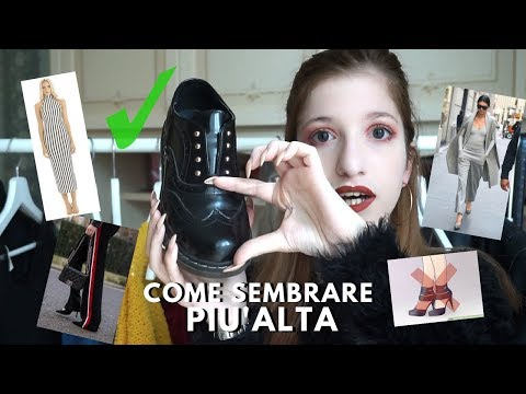 #PETITEFASHION: HOW TO LOOK TALLER - Sono alta 1.45cm ( 4'9 )!! | Hica Alien