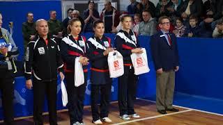 Церемония открытия ETTU CUP 25.11.2017