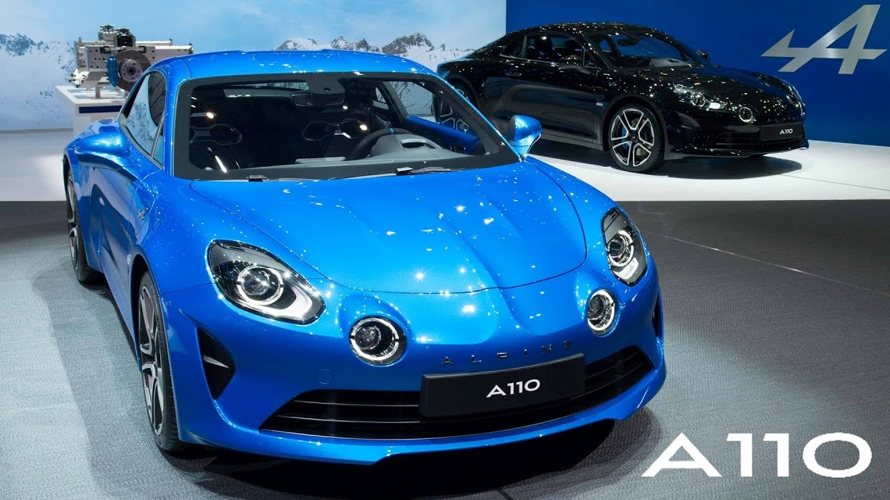pr sentation nouvelle alpine a110 gen ve 2017 youtube. Black Bedroom Furniture Sets. Home Design Ideas