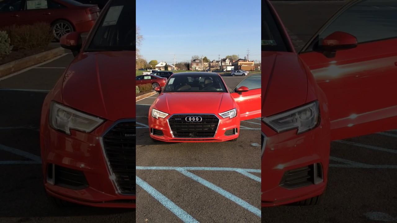 2017 Tango Red Audi A3 Youtube