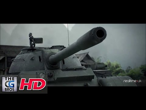 """CGI Animated Cinematic Trailer : """"World of Tanks: Chinese Tanks"""" - by RealtimeUK"""
