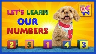 Learn Numbers With Lizzy The Dog | Teach Children To Count To 10 In English