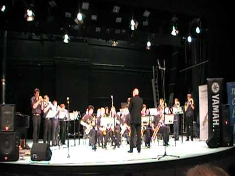 Adrenaline Attack (And introduction) - Burton Borough Big Band NCBF 2012