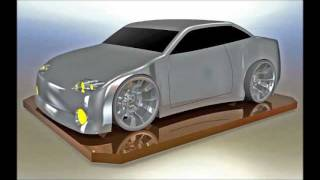 Building a Simple Car with Surfaces in SolidWorks 2011