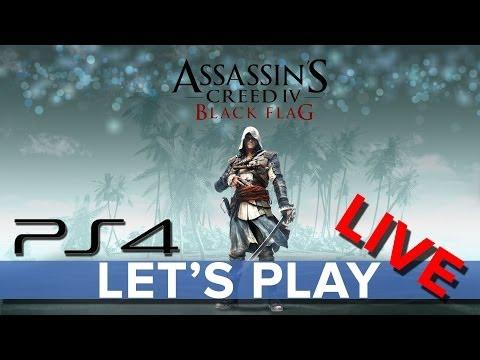 Assassin's Creed 4: Black Flag - Let's Play LIVE on PS4 - Eurogamer