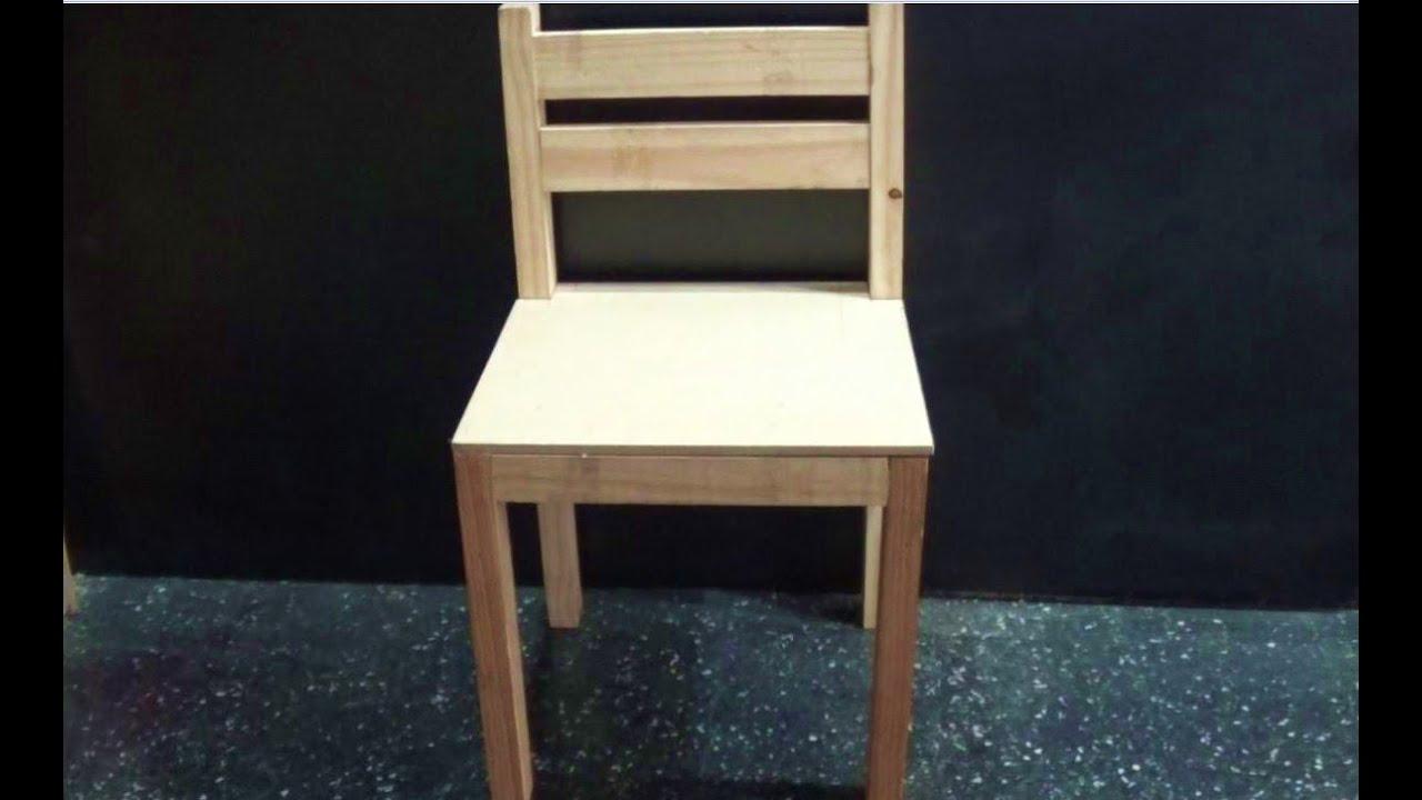 como hacer silla de madera f cil juan carlos aquila