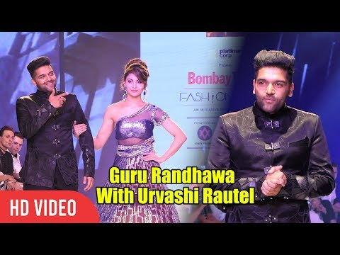 Guru Randhawa Walks The Ramp With Gorgeous Urvashi Rautela | Bombay Times Fashion Week 2018