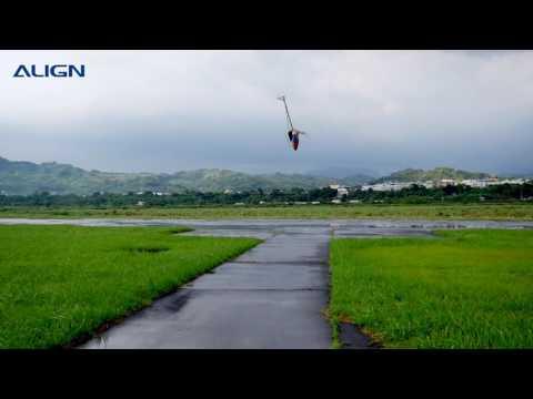 ALIGN T-REX 700X test flight