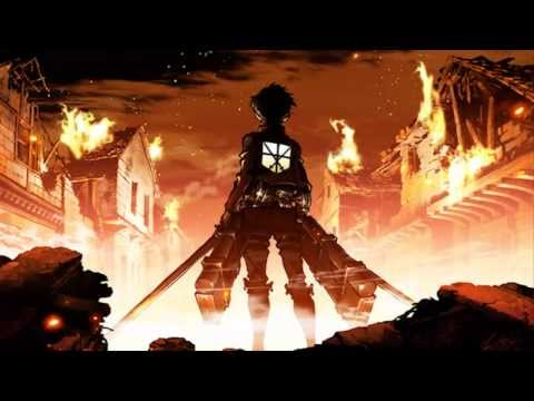 Nightcore - Burn it down w/ Lyrics