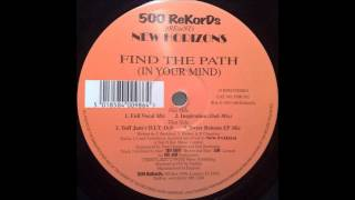 New Horizons - Find The Path (Sweet Release EP Mix)