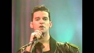 depeche mode never let me down again sacree soiree 091987