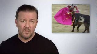 Ricky Gervais -- We can end bullfighting in Catalonia. Act now!