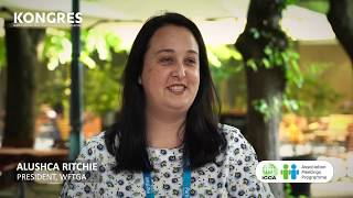 ICCA AMP 2018: Interview with  Alushca Ritchie, President -  WFTGA