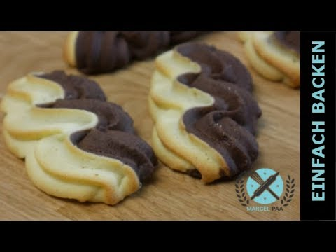 Zweifarbige Kekse - Duo Wellen