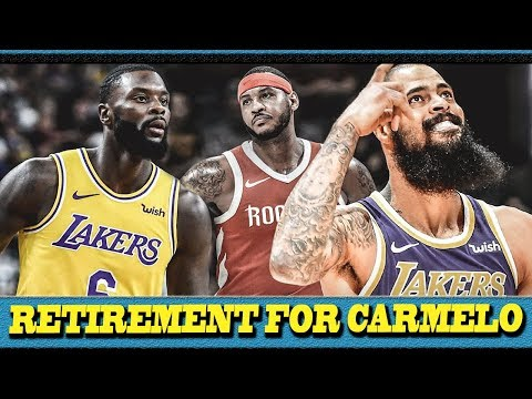 CARMELO ANTHONY Magre-RETIRE na? | LANCE STEPHENSON at TYSON CHANDLER San team nga ba NAPUNTA?