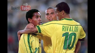 The 'R' Trio Show ( Ronaldo Rivaldo Ronaldinho) vs Argentina 1999