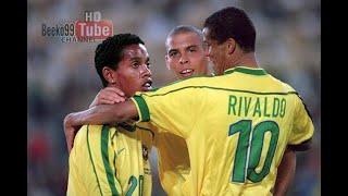 The Time When The 'R' Trio ( Ronaldo Rivaldo Ronaldinho) Destroyed Argentina