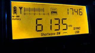 Radio Aperecida 6135kHz (08 Sep 2013 0846, 0900UTC)
